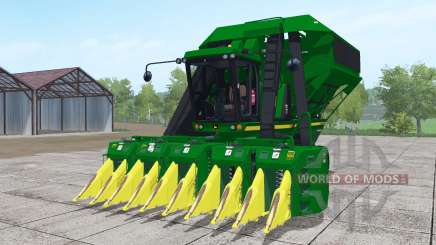 John Deere 9950 with headers para Farming Simulator 2017