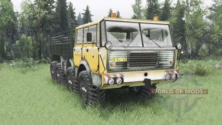 Tatra T813 TP 8x8 1967 Kings Off-Road 2 winter para Spin Tires