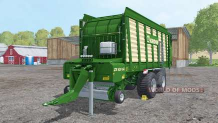 Krone ZX 450 GL doubled collecting speed para Farming Simulator 2015