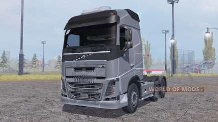 Volvo FH16 6x4 Globetrotter cab 2012 para Farming Simulator 2013
