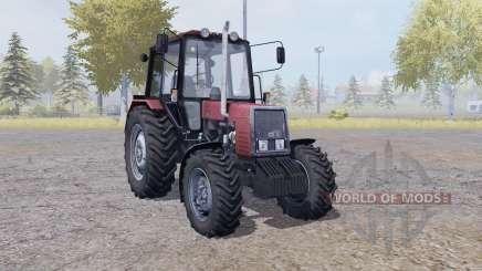 MTZ Bielorrússia 820 com manual de ignição para Farming Simulator 2013