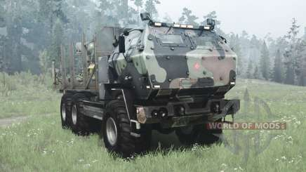 FMTV Himars 6x6 2006 custom para MudRunner