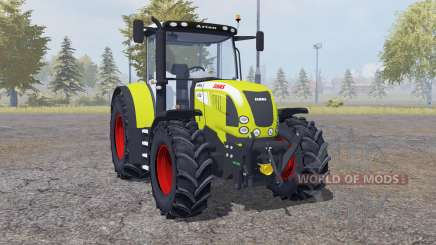 Claas Arion 640 front loader para Farming Simulator 2013