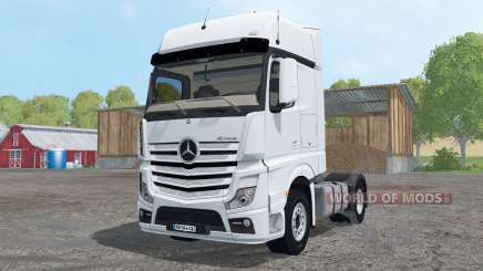 Mercedes-Benz Actros BigSpace (MP4) para Farming Simulator 2015
