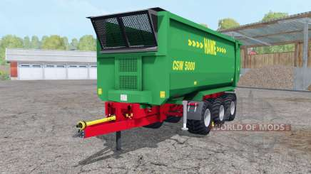 Hᶏwe CSW 5000 para Farming Simulator 2015