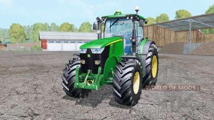 John Deere 7280R double wheels para Farming Simulator 2015