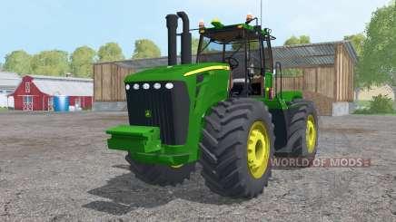 John Deere 9630 triple wheels para Farming Simulator 2015
