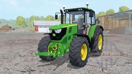 John Deere 6115M front loader para Farming Simulator 2015