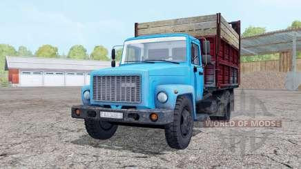 GAZ SAZ 3507-01 silagem para Farming Simulator 2015