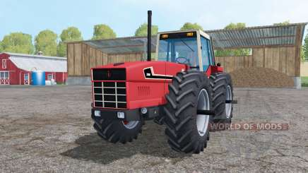 International 3588 double wheels para Farming Simulator 2015