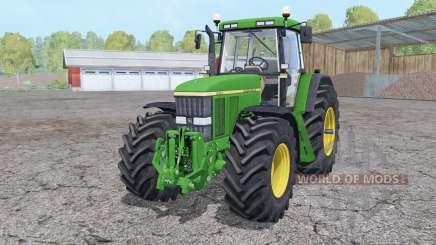 John Deere 7810 front loader para Farming Simulator 2015