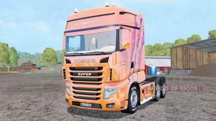 Scania R700 Evo Cedric Transports Edition para Farming Simulator 2015