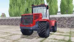 Kirovets K-744Р4 com uma grande variedade de configurações para Farming Simulator 2017