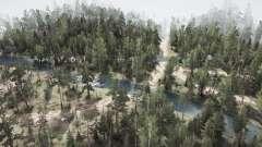 Siberian selva para MudRunner