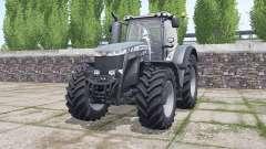 Massey Ferguson 8732 Black Edition para Farming Simulator 2017