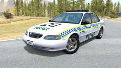 Ibishu Pessima Australian Police v0.3 para BeamNG Drive