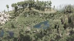 Natureza verde para MudRunner
