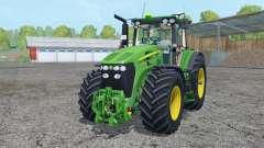 A John Deere 7930 frente loadeᶉ para Farming Simulator 2015