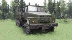 KrAZ 260 v3.0 para Spin Tires