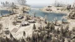 Entre os lagos para MudRunner