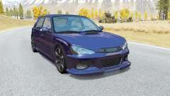 Hirochi Sunburst hatchback v1.14 para BeamNG Drive