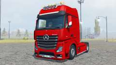 Mercedes-Benz Actros (MP4) flashing light beacon para Farming Simulator 2013