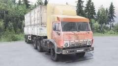 KamAZ-5410 6x4 para Spin Tires