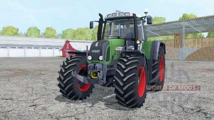 Fendt 820 Vario TMS loader mounting para Farming Simulator 2015