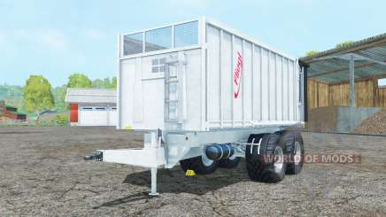 Fliegl TMK 266 Bull new tires para Farming Simulator 2015