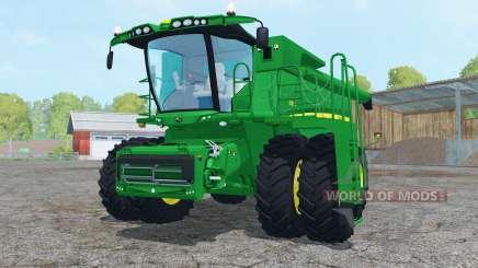 John Deere S680 dual front wheels para Farming Simulator 2015