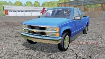 Chevrolet K1500 Extended Cab para Farming Simulator 2015