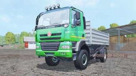Tatᶉa Phoenix T158 4x4 basculante 2011 para Farming Simulator 2015