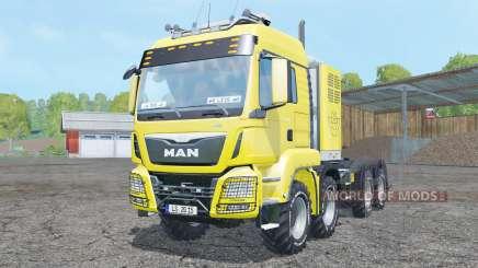 MAN TGS 8x8 tractor para Farming Simulator 2015