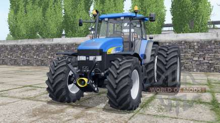 New Holland TM175 new beacon lights para Farming Simulator 2017