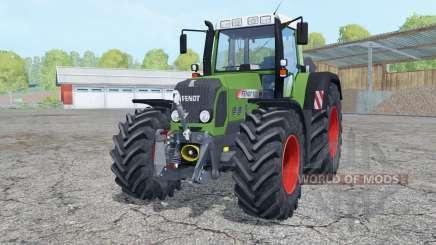 Fendt 820 Vario TMS with weight para Farming Simulator 2015