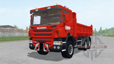 Scania P420 tipper para Farming Simulator 2017