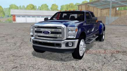 Ford F-350 Super Duty Crew Cab 2011 para Farming Simulator 2015