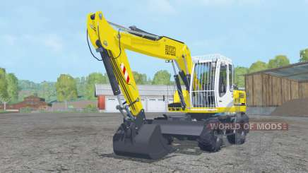 Liebherr A 900 Compacto Litroniƈ para Farming Simulator 2015