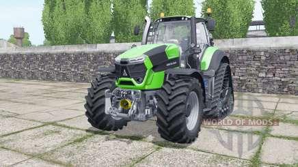 Deutz-Fahr Agrotron 9340 TTV crawler para Farming Simulator 2017
