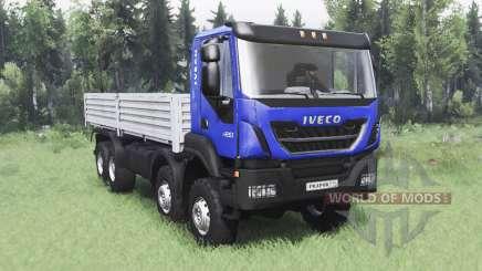 Iveco Trakker 420 8x8 2013 para Spin Tires