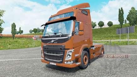 Volvo FM 450 Globetrotter LXL 2013 v1.5 para Euro Truck Simulator 2