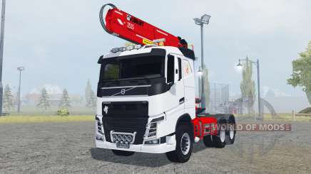 Volvo FH16 750 Sleeper cab timber loader para Farming Simulator 2013