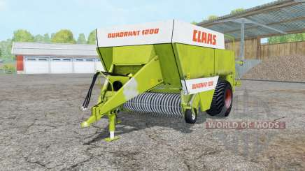 Claas Quadrant 1200 para Farming Simulator 2015