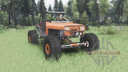 Jeep Wrangler (YJ) 40OZ Juggy para Spin Tires