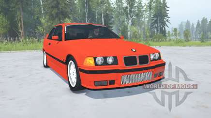 BMW M3 Coupe (E36) 1994 para MudRunner