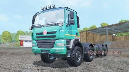 Tatra Phoenix T158 8x8 hooklift para Farming Simulator 2015