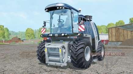 Krone BiG X 1100 Black Edition para Farming Simulator 2015