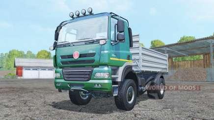 Tatra Phoenix T158 4x4 tipper 2011 para Farming Simulator 2015