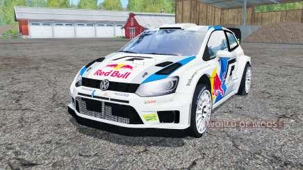 Volkswagen Polo R WRC (Typ 6R) 2013 para Farming Simulator 2015