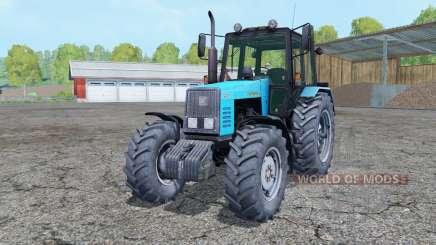 MTZ-1221 Bielorrússia trator dupla rodas traseiras para Farming Simulator 2015